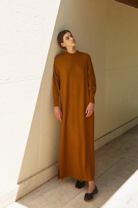 Diarte olaya knit dress - ochre