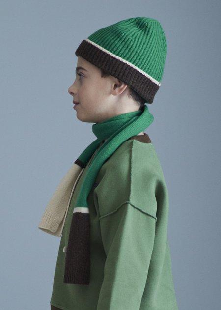 KIDS CARAMEL Ibsen Child Scarf - Emerald Green