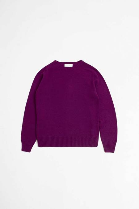 Officine Generale Seamless sweater - mauve
