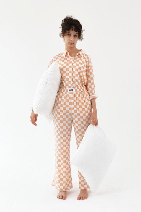 Foli Charging PJ Suit - Apricot
