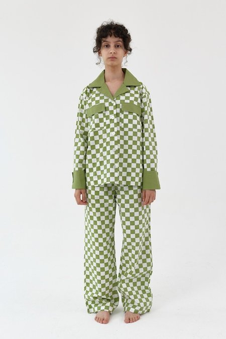 Foli Unplugged Loungewear Set - Sage Green