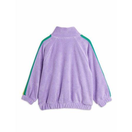 kids mini rodini terry jacket - purple