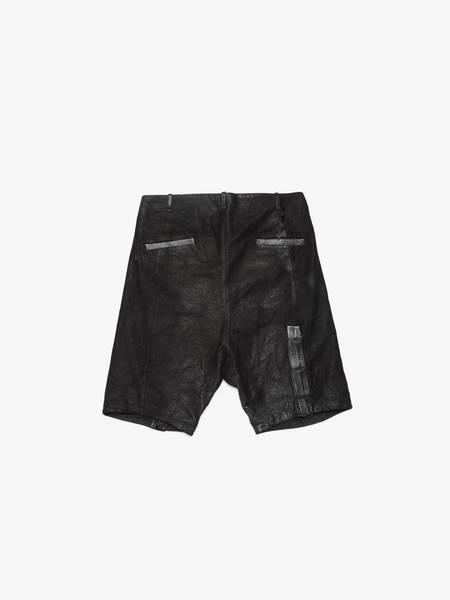[Pre Loved] Boris Bidjan Saberi AW14-15 P2-F277 Leather Shorts - Black