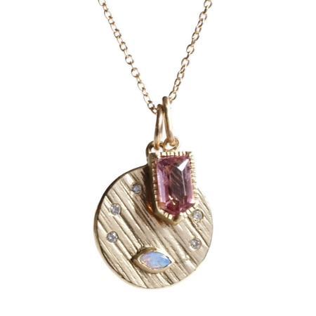 Lio & Linn Eye +7 Star Necklace