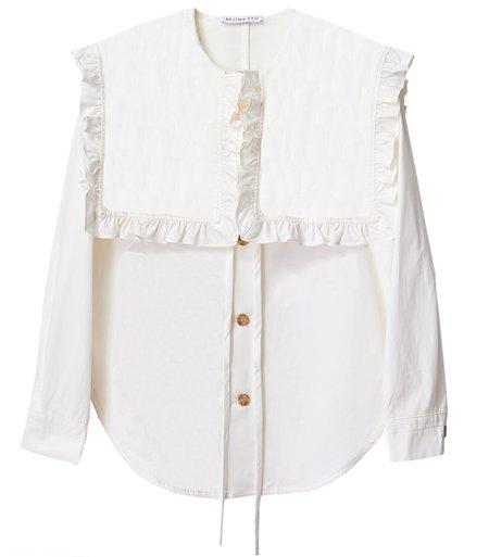 Rejina Pyo Tate Organic Cotton Shirt - Off White