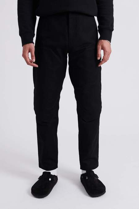 Stone Island Shadow Project Chapter 1 Textured Cotton Doubleknee Pants - Black