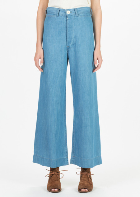 Jesse Kamm Sailor Pant - Chambray