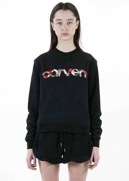 Black Carven Logo Sweatshirt