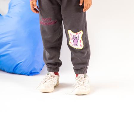 Kids Fresh Dinosaurs Yeti Trousers - Gray