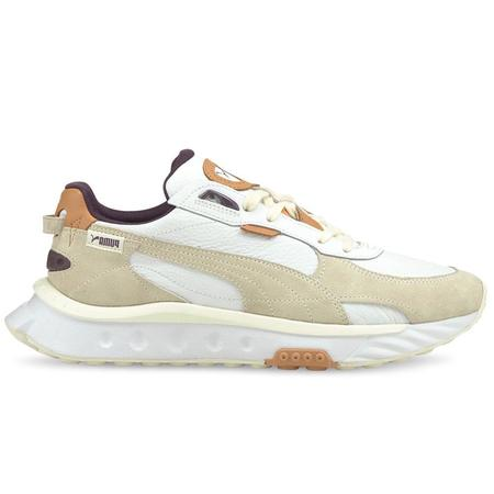 Puma Wild Rider SC Shoes - Vaporous Gray-Puma White