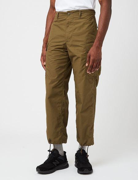 Beams Plus MIL 6 Pocket Ripstop Pants - Olive Green Drab