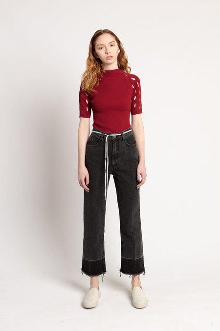 Rachel Comey Washed Black Slim Legion Pant