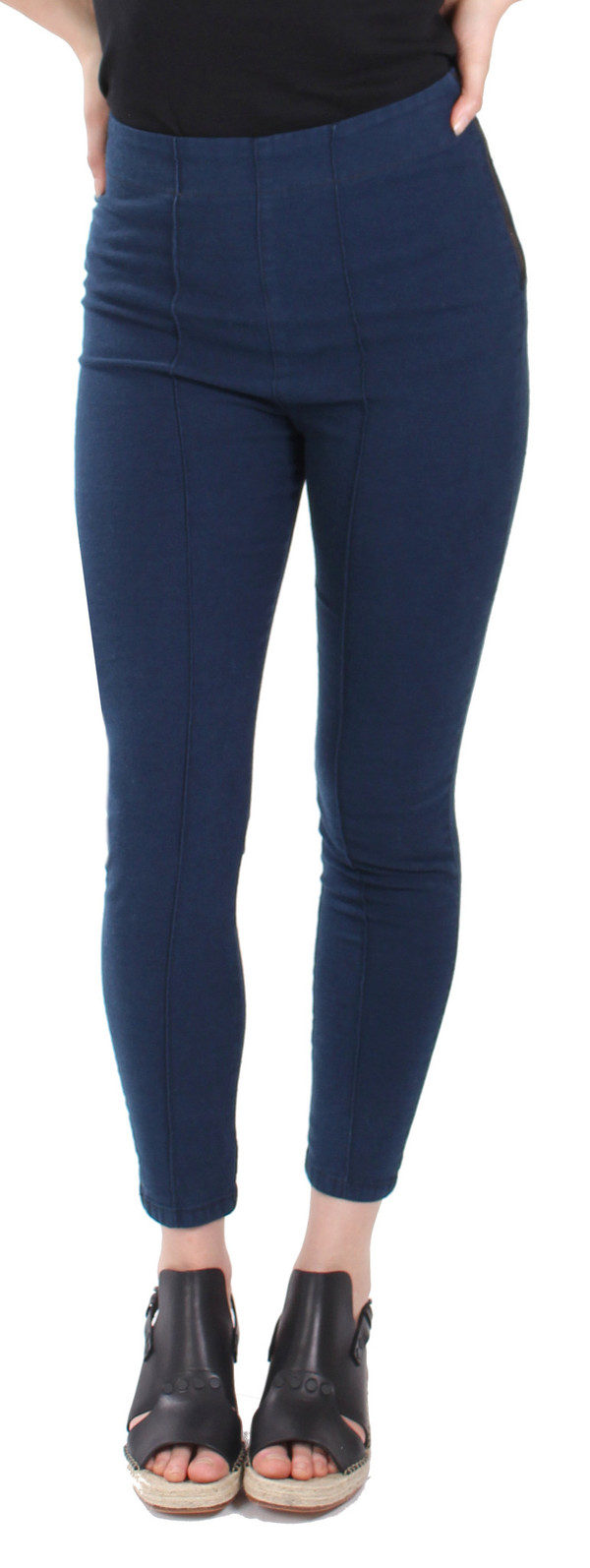 Pre-Order: A/L Cigarette Legging in Deep Blue