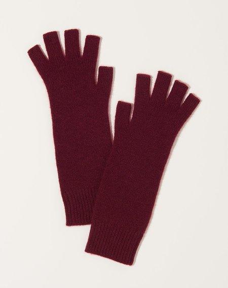 6397 Gloves - Burgundy