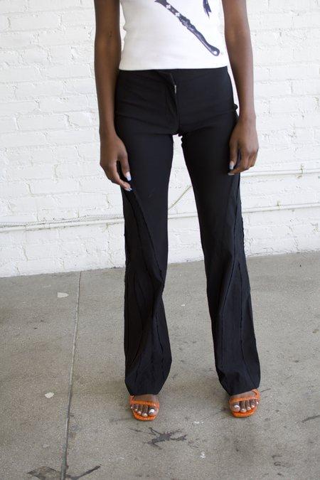 Karla Laidlaw Spliced Pant - Black