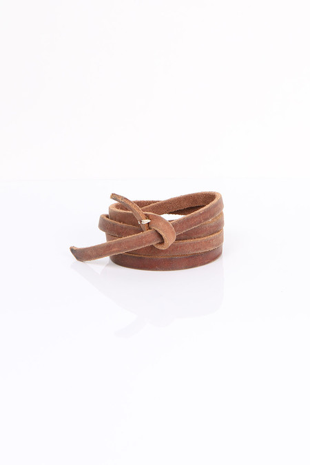 Pomandere Brown Leather Belt