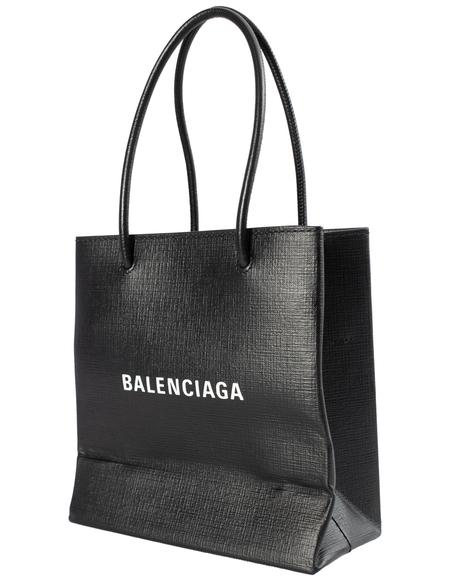 Balenciaga Shopping XXS Tote Bag in Black