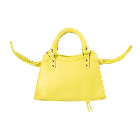 Balenciaga Neo Classic Mini Top Handle in Yellow
