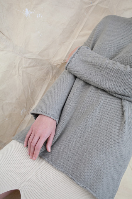 Lauren Manoogian Oversized Boatneck in Clay