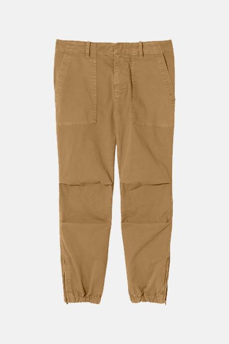 Nili Lotan Women's Cropped Military Pants - Fawn