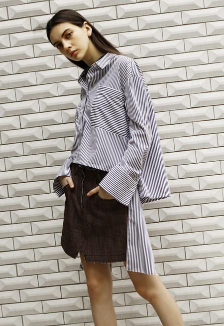 Outstanding Ordinary Stripe Tie Shirt