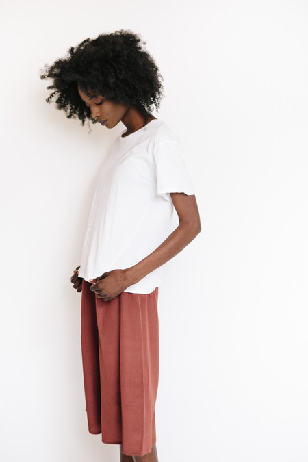 Kowtow Building Block Crew Neck Tee - White