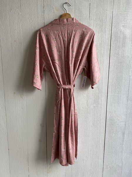 Conrado Mya Lounge Robe - Pink Printed