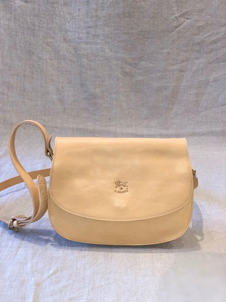 Il Bisonte Crossbody Bag - Natural Cowhide Leather