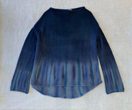 Viviana Uchitel 100% Cashmere Sweater - Aquerelle