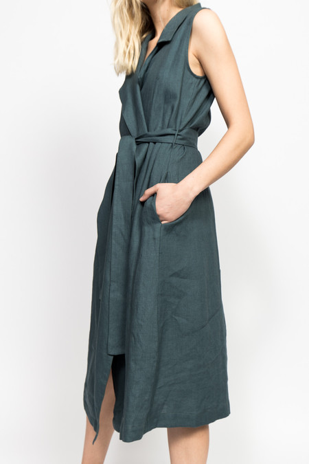 Jesse Kamm Amalfi Wrap Dress