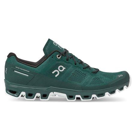 ON Running On Men's Cloudventure  Evergreen Shoes - White
