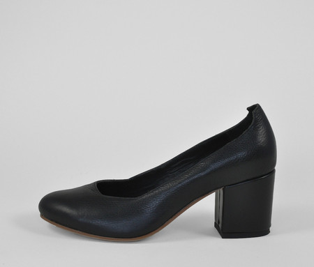 The Palatines Shoes saturo pump - black leather