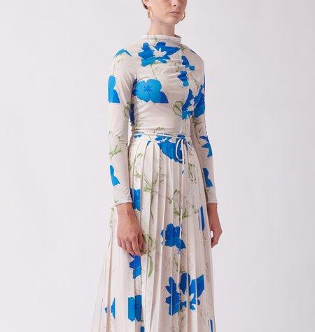 Rejina Pyo Alix Top - Flower Blue
