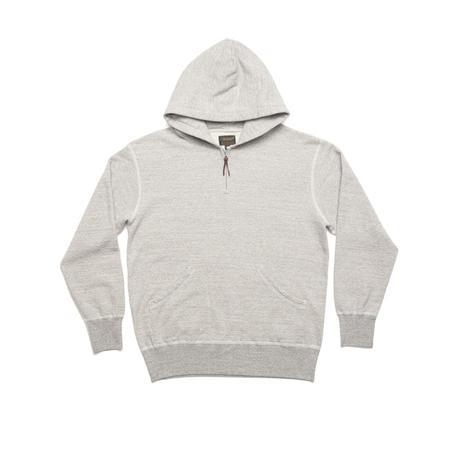 National Athletic Goods 1/4 Zip Parka Mid - Grey