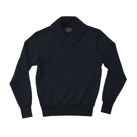 National Athletic Goods Shawl Pullover - Navy