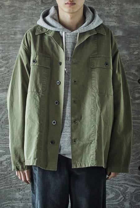 Orslow USMC Herringbone Jacket - Army Green