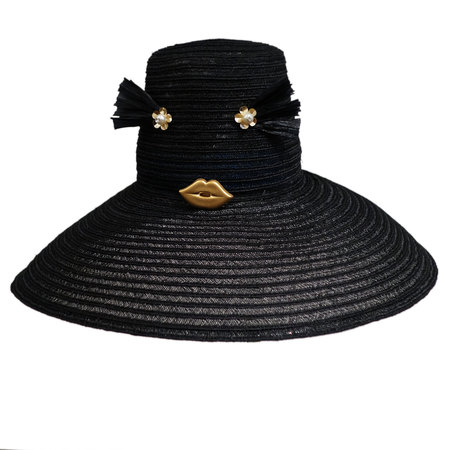 Yestadt Millinery CHEEKY BLACK