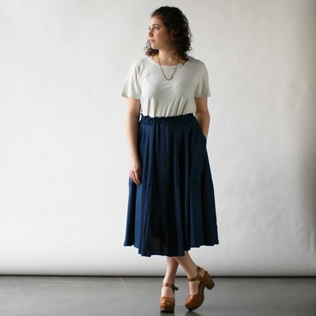 Curator Grace Skirt in Blue