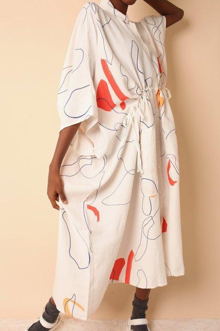 L.F.Markey Harris Dress - Willow Print