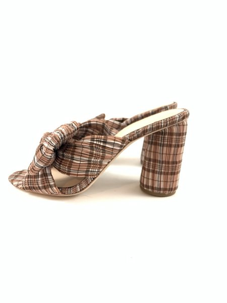 Loeffler Randall Penny mule  - Pink/brown
