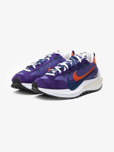 [Pre - Loved] Nike X Sacai Vaporwaffle Sneakers - Puprle