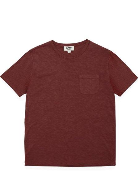 YMC Wild Ones Pocket T-Shirt - Red