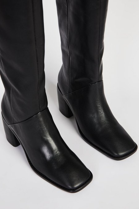"""""""INTENTIONALLY __________."""" COUCOU boots - Black"""
