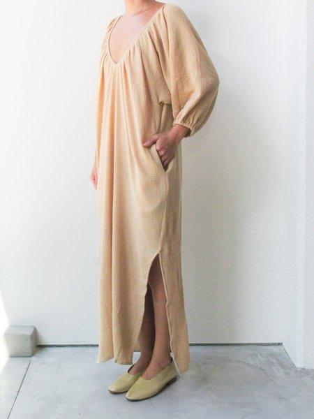 Gillia Cotton Imari Coverup - Cream/Gray