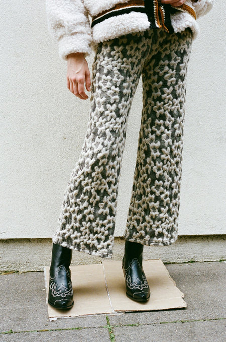 TACH CLOTHING Nelida Trousers - Black/beige