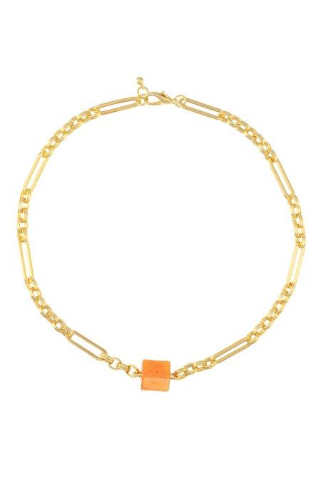 Talis Chains New York Choker - Tangerine