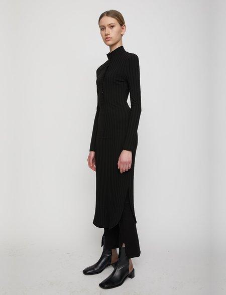 Just Female Across Dress - Black
