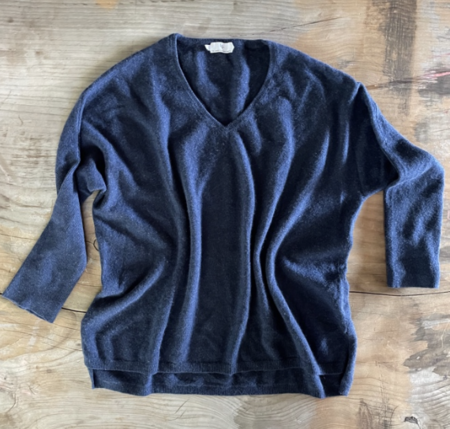PRE-LOVED London Cashmere Company Sweater - navy