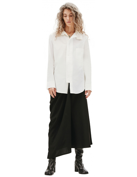 Y's Cotton Shirt - White