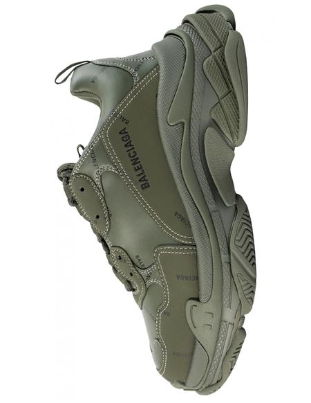 Balenciaga Triple S Sneakers - green